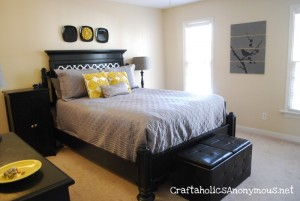 Awesome master bed remodel