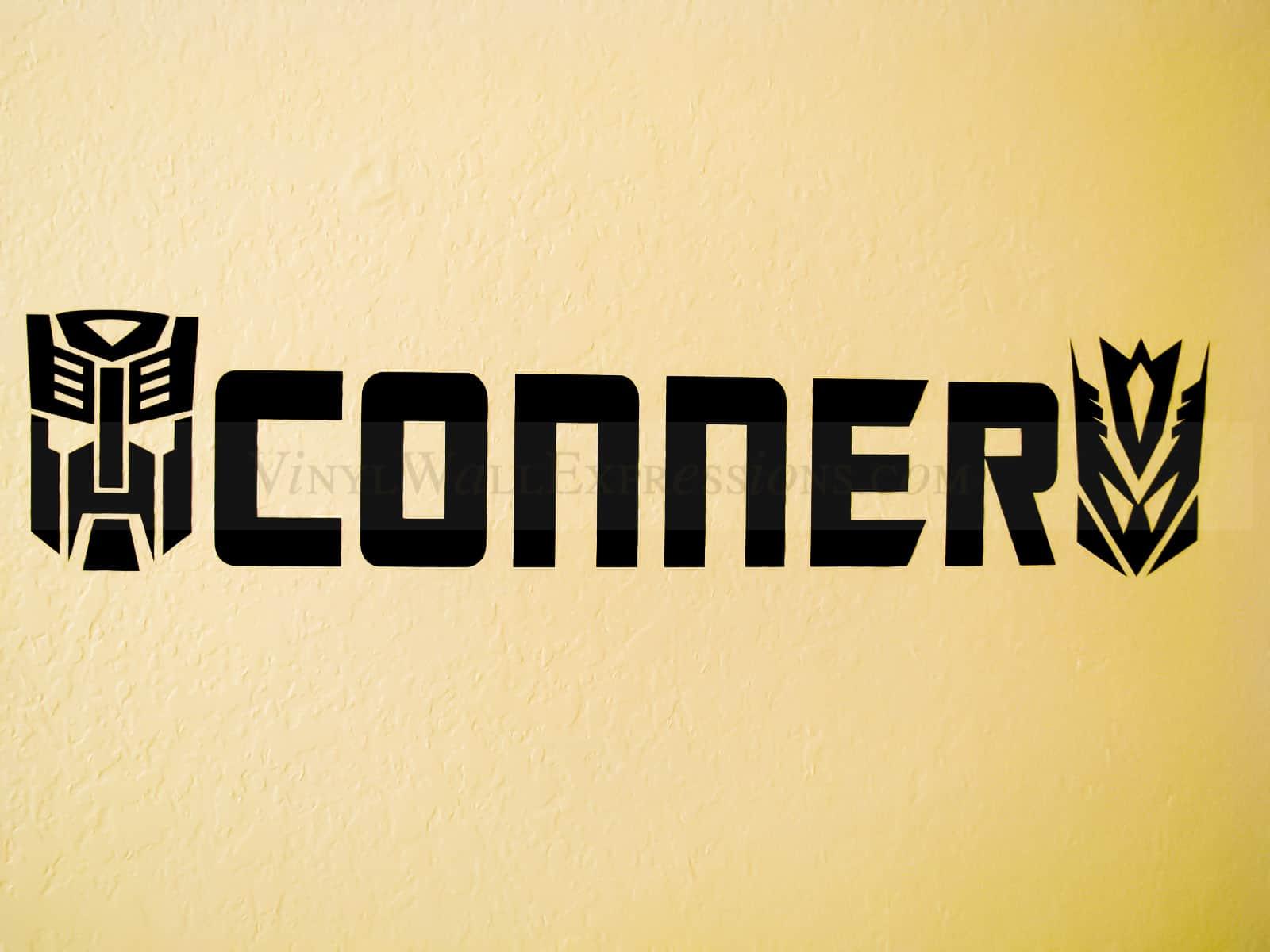 transformers boys vinyl wall art