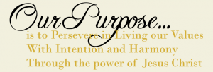 Our Purpose Family Wall Decal