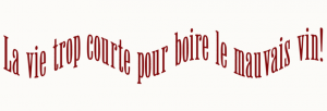 Dining Room Wall Quote French