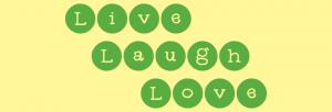 Live, Laugh, Love Custom Vinyl Wall Decal