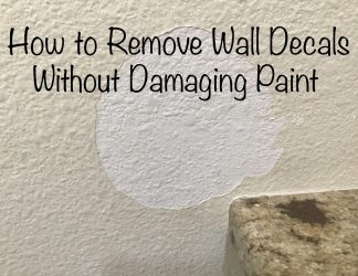 How to Remove Wall Decals Without Damaging Paint