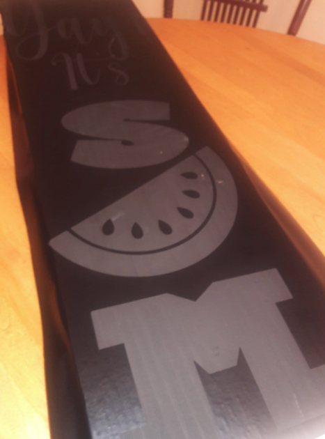 Painted Stencil