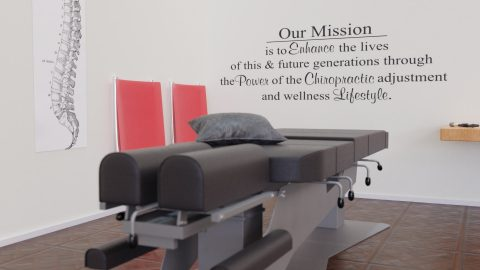 Chiropractic Mission Statement Wall Decal Vinyl Wall Quote Custom Color Choice