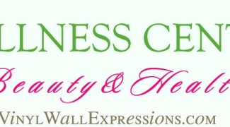 vinly lettering custom design-beauty-wellness