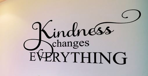Kindness Changes Everything Classroom Wall Decal Family Wall Quote