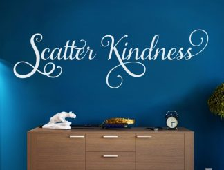 Scatter Kindness Vinyl Wall Quote