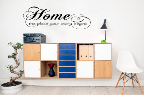 Home, the place your story begins