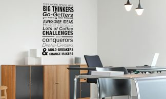 This Work Space Has Big Thinkers