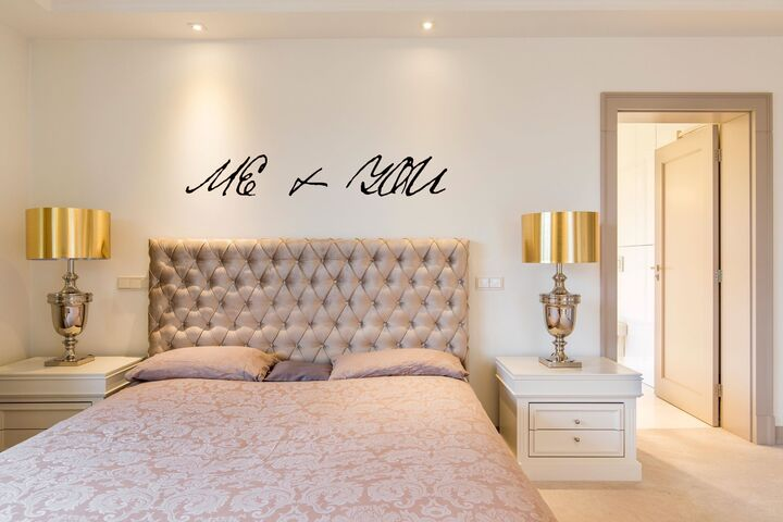 Me + You Bedroom Wall Decal