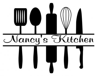 Kitchen Utensils with Custom Name