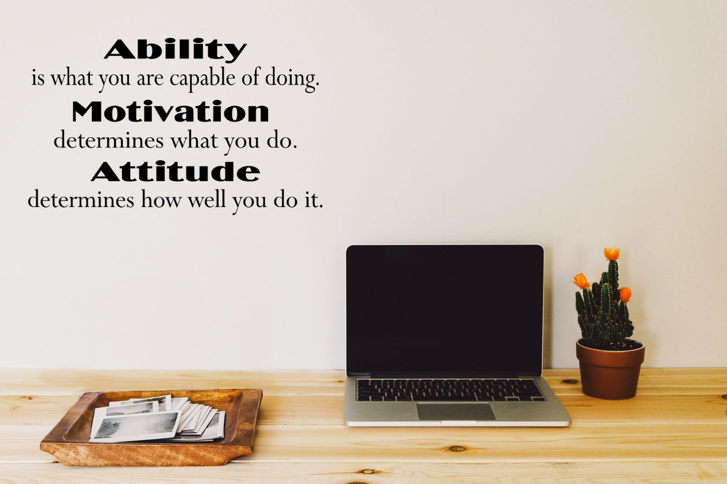 Ability Motivation Atude