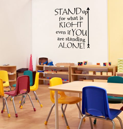 Stand up For what is Right - Motivational Quote