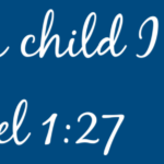 for this child i prayed 1 Samuel 1:27-bible custom wall quote