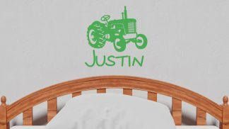 Tractor with Name